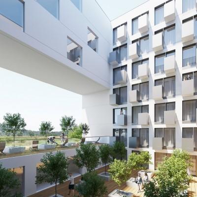 Konkurs na projekt aparthotelu w Krakowie