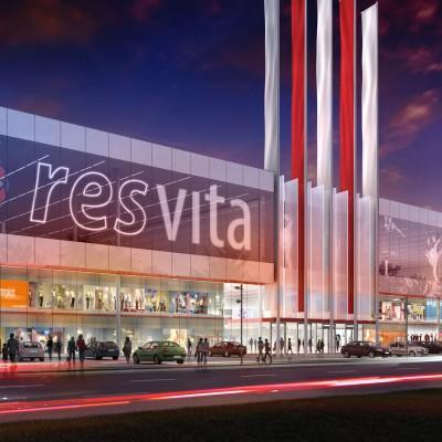I nagroda w konkursie na Centrum Handlowe RES-VITA w Rzeszowie